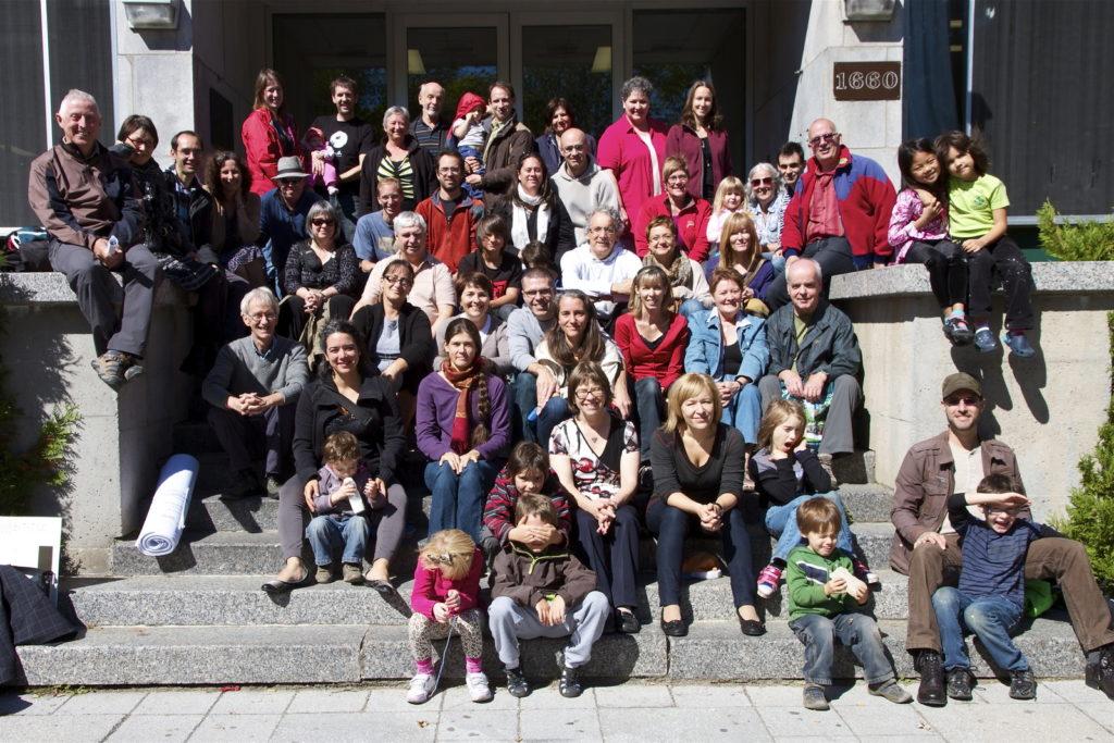 Une photo de groupe, le 16 septembre 2012.