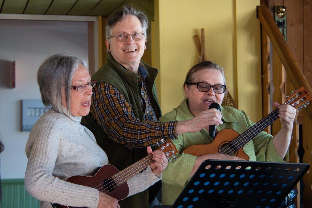 Nous avons également quelques musiciens!